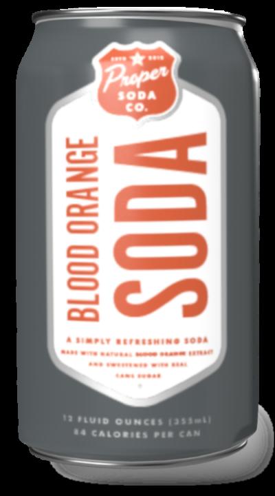 Proper soda - blood-orange