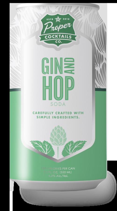 Proper cocktails - gin hop